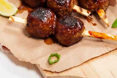 Instant Pot BBQ Sweet Meatballs