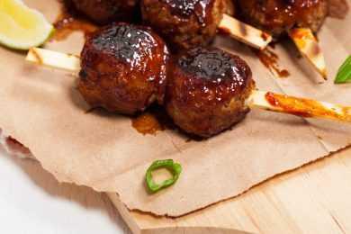 Instant Pot BBQ Sweet Meatballs
