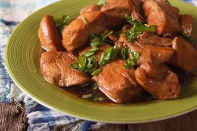 Instant Pot Chicken Adobo