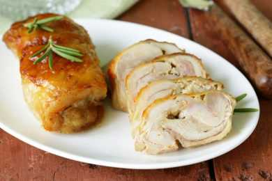 Instant Pot Chicken Roulade