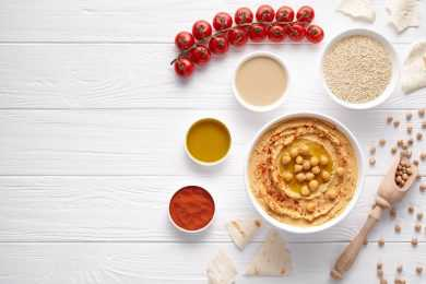 Instant Pot Chickpeas & Parsley Dip