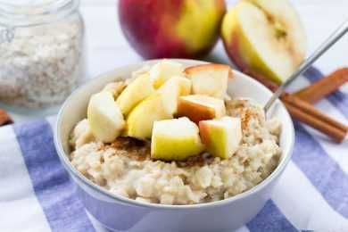 Instant Pot Cinnamon Apple Oats