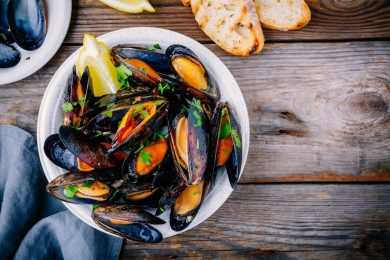 Instant Pot Dinner Mussels
