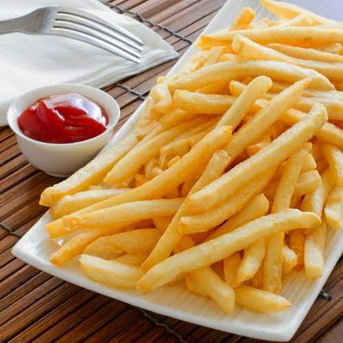 Pressure Cooker French Fries
