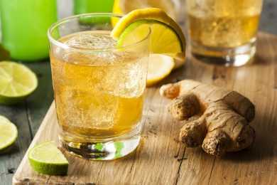 Instant Pot Ginger Ale