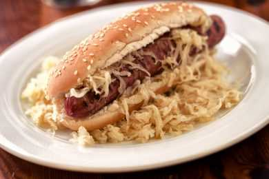 Instant Pot Hot Dogs and Sauerkraut