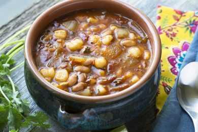 Instant Pot Jackfruit Pozole