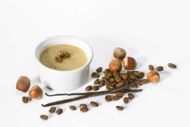 Instant Pot Quick Almond Coffee Custard