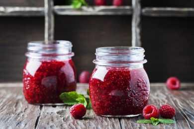 Instant Pot Raspberry Jam