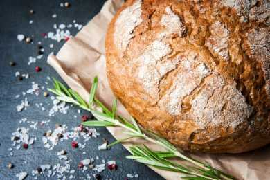 Instant Pot Rosemary Bread