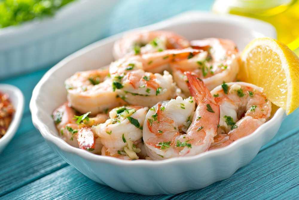 Instant Pot Shrimp Scampi