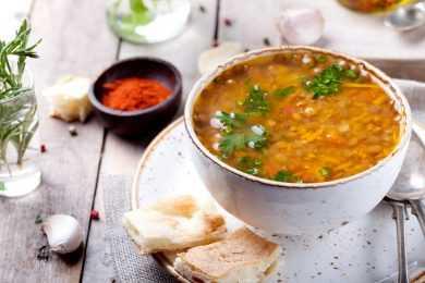 Instant Pot Smoked Paprika Lentil Soup