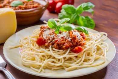 Instant Pot Spaghetti Bolognese