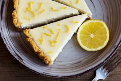 Instant Pot Spicy Jelly Lemon Cheesecake