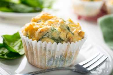 Instant Pot Spinach Egg Muffins