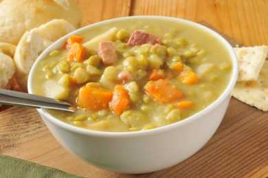 Instant Pot Split Pea And Ham Soup