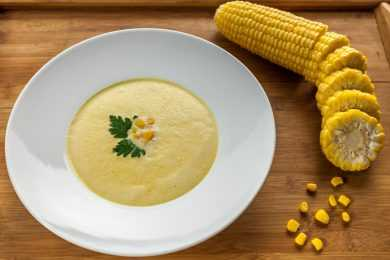 Instant Pot Steamed Corn Cream Style For Soup And Gravies