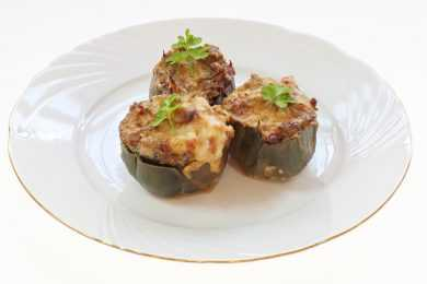 Instant Pot Stuffed Artichokes with Bacon