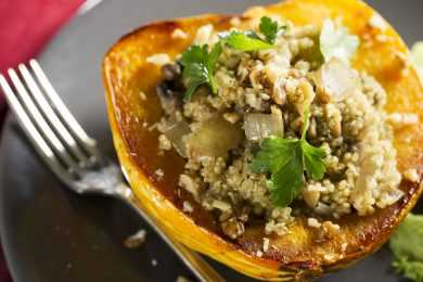 Instant Pot Stuffed Squash