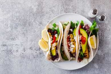 Instant Pot Tacos With Vegan Cheese