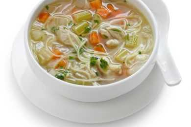 Instant Pot Vegetable Noodle Soup