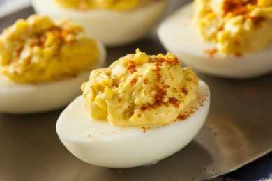 Instant Pot Zesty Devilled Eggs