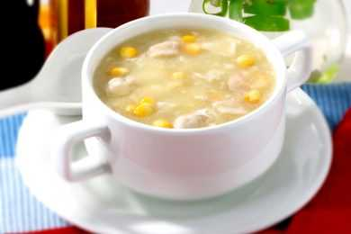 Instant Pot Chicken Corn Soup