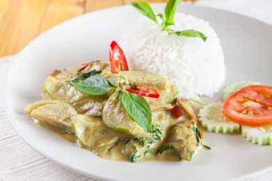 Instant Pot Chicken Curry Thai