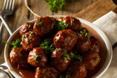 Instant Pot Fiery BBQ Meatballs