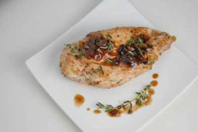 Instant Pot Maple Glazed Chicken