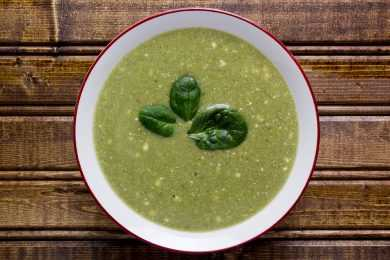 Instant Pot spinach fresh cream soup