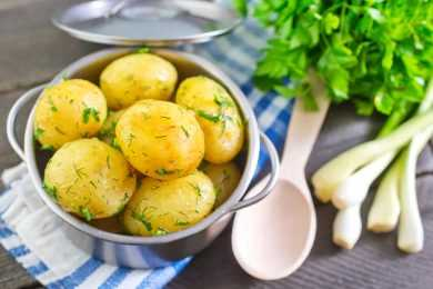 instant pot Boil Potatoes