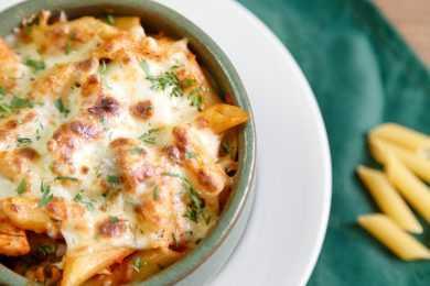 Instant Pot Meaty Pasta Casserole