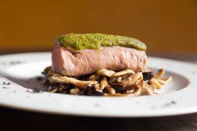 Instant Pot Pesto with Pork