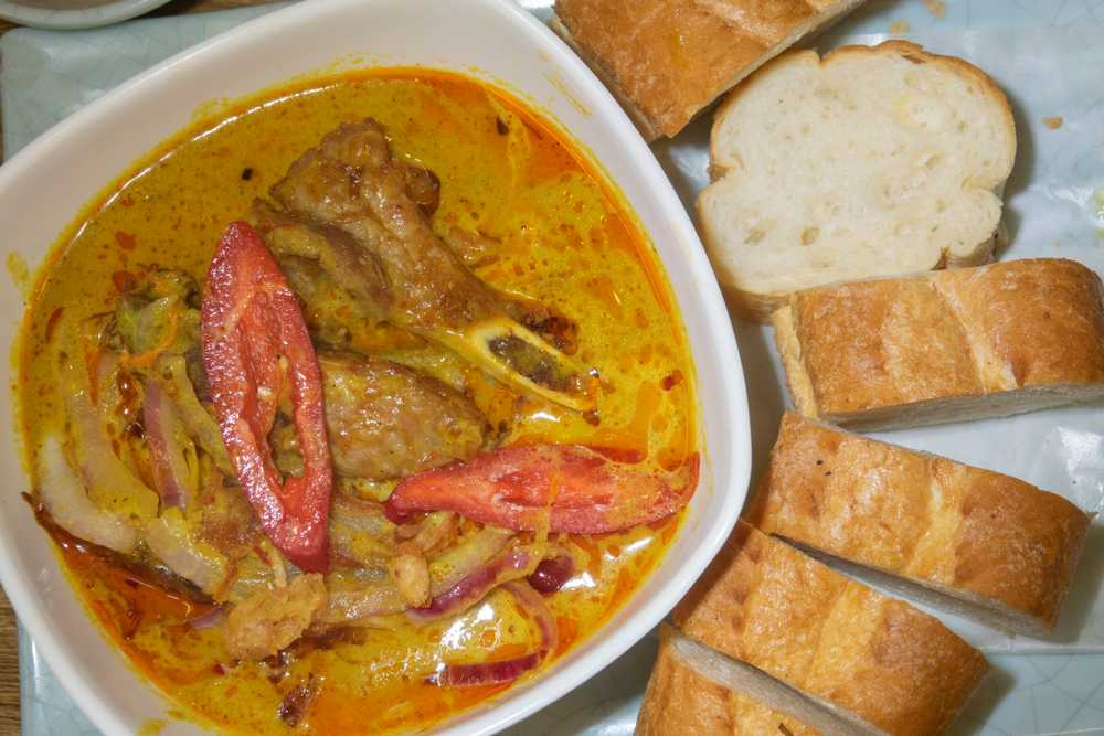 Instant Pot Pork Chops with Thai Red Curry Paste