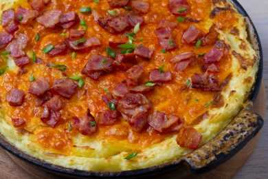 Instant Pot Potato Au Gratin with Bacon