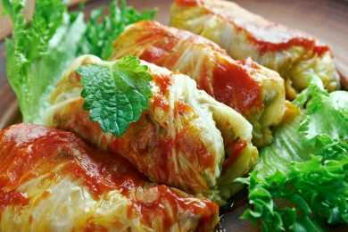 Instant Pot Stuffed Cabbage Rolls with Chicken