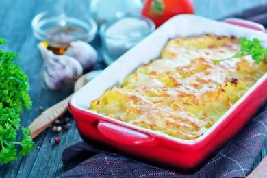 Instant Pot Vegetable Au Gratin