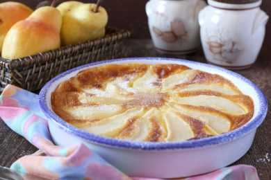 Instant Pot Apple & Pear Clafoutis