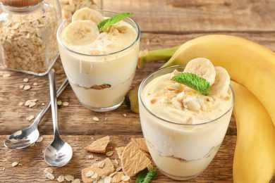 Instant Pot Banana Cream Custard