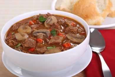 Instant Pot Beef and Porcini Mushroom Stew