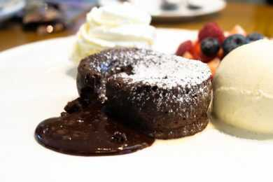 Instant Pot Choco Orange Olive Oil Molten Lava Cake