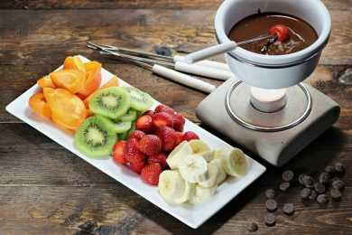 Instant Pot Dark Chocolate (70%) Fondue