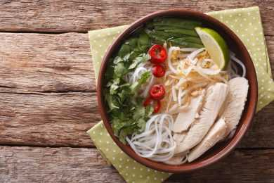 Instant Pot Faux Chicken Pho