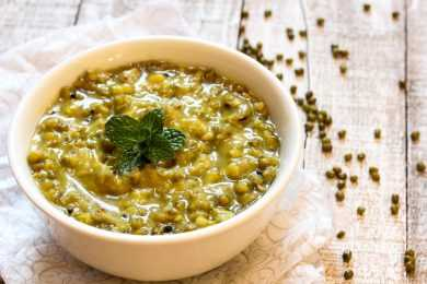 Instant Pot Green Gram Lentil/ Moong Dal