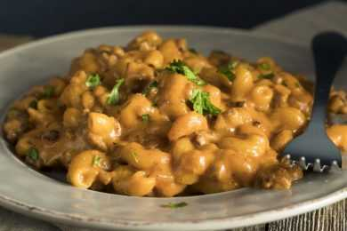 Instant Pot Hamburger Mac and Cheese