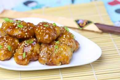 Instant Pot Honey Sesame Chicken