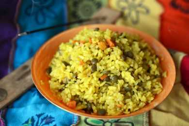 Instant Pot Lentil and Vegetable Khichdi