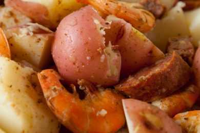 Instant Pot Low Country Shrimp Boil