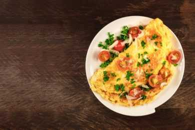 Instant Pot Mild Curry Omelette